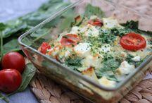 Clean Eating recept med ägg / Här har jag samlat mina favorit-recept där ägg är en av huvudingredienserna. Har du ägg hemma så har du ingen anledning att inte äta hälsosam mat :)