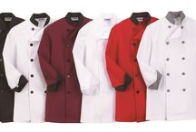 Chef Wear - Dixie Uniforms Canada / Chef Coats, Chef Hats, Aprons, Chef Pants, Tops, Front of house Vest, Neckerchief