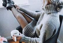 Fishnet Stockings Outfit
