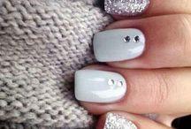 Acrilic nails for winter
