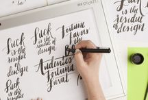 Design | Typography / Typography that lights us up.