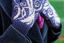 Вязание Варежки
