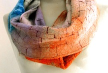 Felt shawl