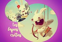 LES LAPINS CRETINS. (my collect') / ©LauryRow. / VOIR ICI : https://www.facebook.com/Disneycollecbell-603653689716325/photos/?tab=album&album_id=819783444770014