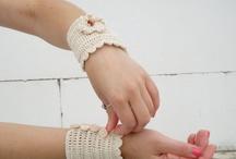 gloves/bracelets crochet