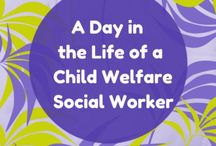Child welfare social worker