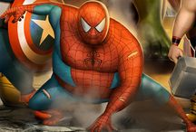 super hero fat