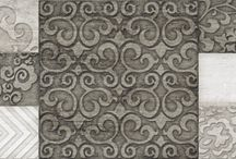 Decorated Tiles / Artistic tiles, beautiful patchwork ideas to re-cover your place.