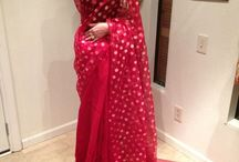 customized saree