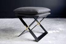 - bench + ottoman -