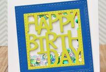 Cards: birthday cards