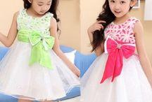 Hermosos Vestidos de Fiesta para Niñas / Aquí encontrarás varios modelos modernos de vestidos para niñas.