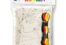 Moomin Crafts / Lovely Moomin craft products.