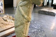 ancient stone figure
