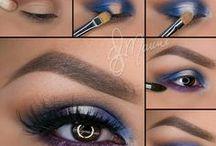 makeup eyes inspiration guides to  DIY