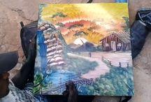 schilderen met de hand