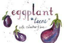 Vegan recipes - eggplant / by Kathy Hester | HealthySlowCooking.com