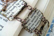 Paper & textile jewelry