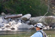 Fly Fishing / by Herman Ouellet
