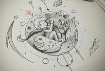 Dessin tatoo