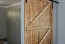 Barn Doors / Sliding barn doors made from reclaimed wood.