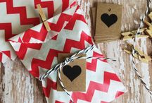 Gifts wrapping, tags, prints