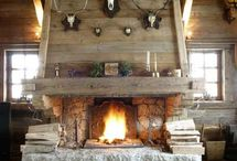Chalet fireplaces