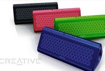 Creative Airwave / Przenośny głośnik bezprzewodowy z technologią NFC www.376west.com