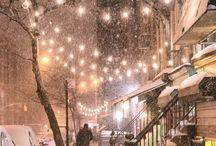 Winter Night / Зимняя ночь, новогодняя атмосфера