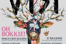 Magazine Layout | Covers | Typographic Ads