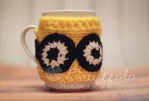 Mug Cover - My creations / Simpatici ed eleganti copri tazze
