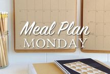 Meal Plan Monday / Every Sunday/Monday I will post our weeks' dinner menu! Stop by for inspiration and ideas.