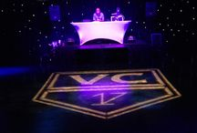 Hockey Themed Bar Mitzvah / Vince's #hockey #themed #BarMitzvah at the Globe Theatre in #LA
