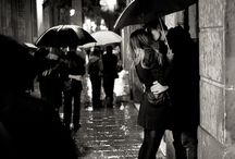 night_street #art #beautiful #love #rain