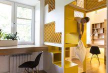 Appartement Design / Découvrez de nombreuses idées et exemples qui vous aideront à décorer et à aménager votre appartement avec un intérieur design et contemporain.