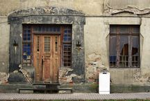 Old windows and doors / by Susan Smith
