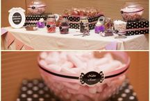 Candy bar by Marry me in Spain / Ideas to present a perfect candy bar. All pictures of this board are of weddings organized by Marry me in Spain.