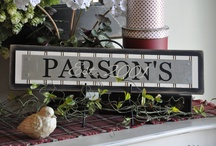 Signs and Sayings / Int is my personal belief that a simple or elaborate a sign or a saying is a basic decorating must for any room. / by Poppy Seed Projects {Poppy Seed Projects.com}