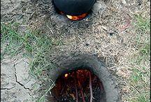 Arazide Yemek pişirme
