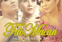 "TRIO MACAN - Aksi Menerkam Album / Trio macan. Famous Indonesian Dangdut Grup. upcoming album with title ""AKSI MENERKAM"""