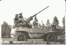 II WW German Wagens