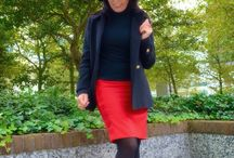 Pencil skirt Donetta Red / Tubino pencil skirt, red cool wool, buttons and lining, http://www.tubino.nl/product-categorie/kokerrokken/