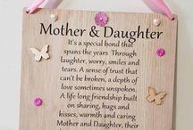 mother daughter evening