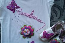 blusas para niñas decoradas