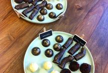 chocolate is the anwser, who cares what the question is / Huisgemaakte bonbons