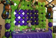 Teenage Mutant Ninja Turtles Birthday Party / Kowabunga ideas for your next TMNT party!