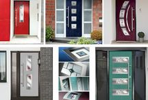 Brighten up your Front Door / Have a look at some of the new stunning ways to modernise and brighten up your home front entrance
