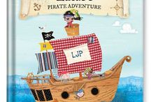 My Pirate Adventure Personalized Book / Make your little pirate the star of the story with this fully personalized adventure on the high seas. / by I See Me! Personalized Children's Books