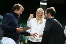 evian - #AskMaria at Wimbledon / The #askMaria interview with Jonathan Ross is here! See Maria Sharapova answer your questions in our exclusive interview: http://youtu.be/M3V46ru1LPM  / by evian