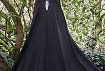 Silky or Sheer Seductive Black Vintage Lingerie